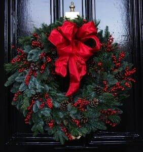 Festive Door Wreath