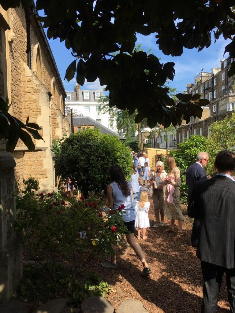 Christ Church Kensington Edible Garden Flowers Florist Charity