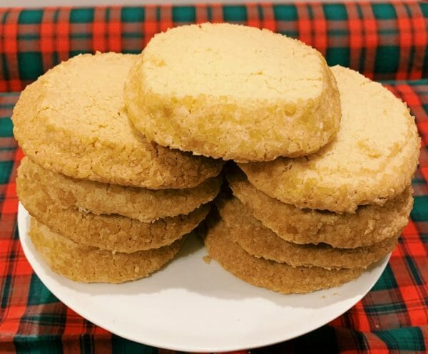 Photo showing sample of the Balham Scottish Shortbread Rounds